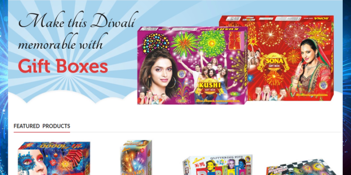 SkyMagic Fireworks – Website