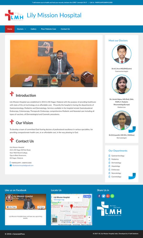 Custom WordPress website and Logo Design